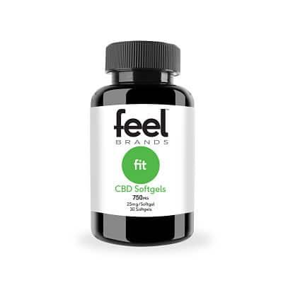 Feel Fit™25mg CBD Gelcaps
