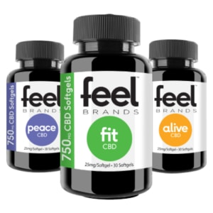 Feel Brands 2250mg CBD Supplement Stack