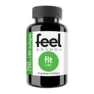 Feel Fit 750mg CBD Gel Capsules