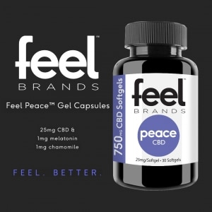 Feel Peace CBD Gel Caps
