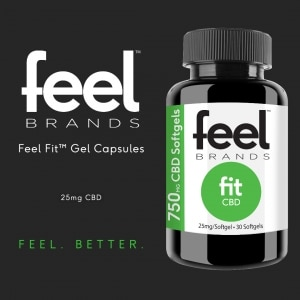 Feel Fit CBD Gel Caps